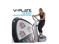 Vi-plate powerplate exercise vibrating plate - new