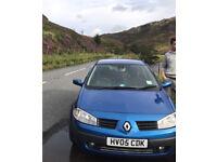 Renault Megane, cheap diesel, £30 year tax, no MOT