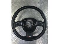 Audi A3, A4, A5, A6 S LINE steering wheel