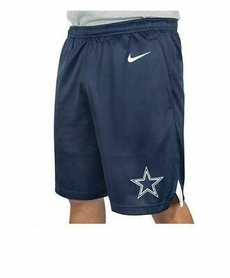 New Dallas Cowboys NFL Football Nike Dri-Fit Knit Shorts Navy Blue Men sizes NWT