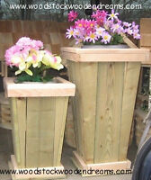 Planters - Outdoor Furniture are Custom made