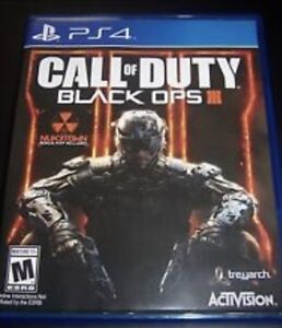 Selling a copy of Call Of Duty Blackops 3 for the ps4