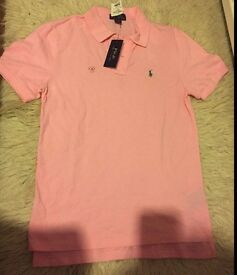 Original Ralph Lauren polo shirt pink