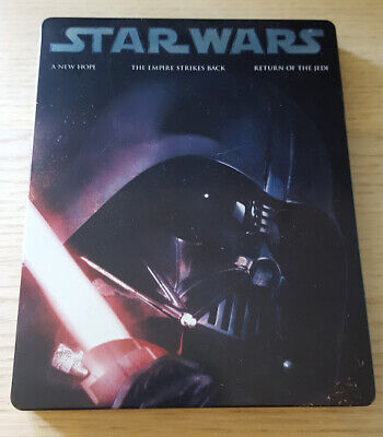 Star Wars Original Trilogy Blu Ray Steelbook