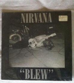 Original Nirvana Blew LP single