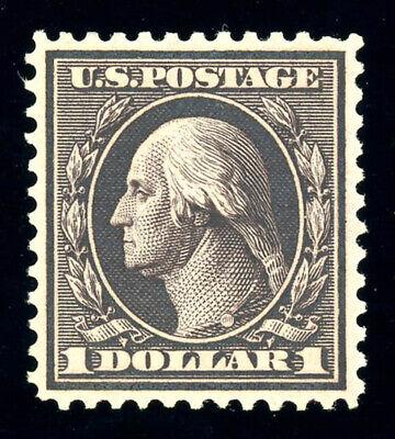 #342, $1.00 Violet Brown, Very Fine-Unused, centered-2007 PF cert, Scott is $450