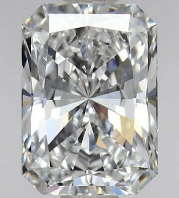 Radiant Cut 0.93 Carat Loose Affordable Diamond-Its A Rare Find VVS2 Clarity GIA