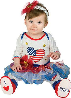 Lil Firecracker Patriotic Tutu Leggings Headband Booties Newborn 0-6 months](Firecracker Costume)