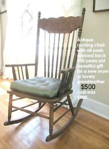 JUST MOVED SALE!  Antique Rocker & More! Door Prizes!