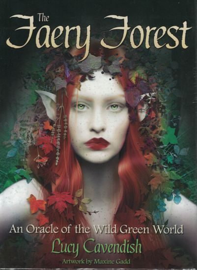 The Faery Forest - An Oracle of the Wild Green World by Lucy Cavendish NEW