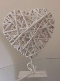 Love heart shaped decoration