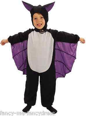 Kleinkind Mädchen Junge Vampir Fledermaus Halloween Kostüm Kleid Outfit 3 (Vampir Kind Kostüme)