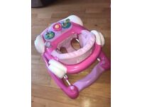 My child coupe baby walker/rocker pink