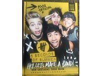 5SOS and one direction books