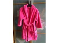 Girls dressing gown, clothes nightwear 2-3 years
