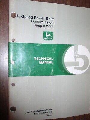 John Deere Technical Manual - 15 Speed Power Shift Transmission Supplement