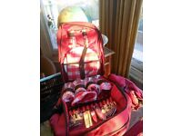 Rucksack with picnic set