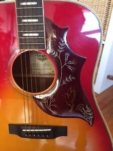 '74 Hummingbird copy acoustic guitar