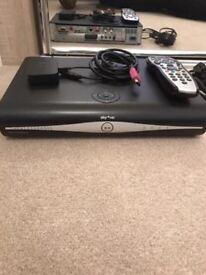 Sky+ 500gb HD Box with wifi adaptor and remote