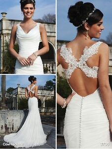 Wedding Dress sincerity 3736, size 6