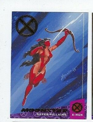 2018 Fleer Ultra X-men 1994 buyback 95 Moonstar 50/50