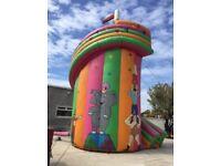 Helter Skelter inflatable slide