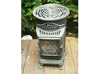 Calor gas fire, stove, real flame.