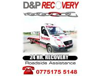 Recovery services 24 hours 7 days,Cars,light Vans, BEST RATES ,MOT & REPAIRS ALSO AVAILABLE