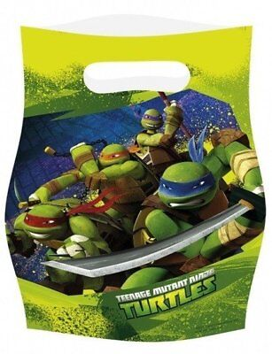 Ninja Turtle Themed Party (Birthday Party Teenage Mutant Ninja Turtles Themed Loot Bag Sweet Bags)