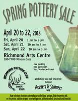 Richmond Pottery Club Spring Sale