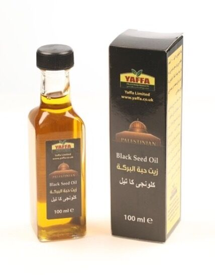 BLACK SEED OIL 100ML  PRODUCED IN PALESTINE 100% PURE TOP QUALITY BY YAFFA