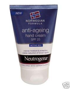 Neutrogena hand cream spf