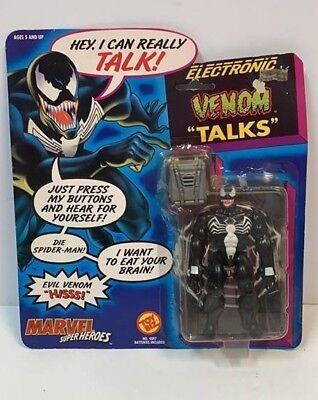 - ToyBiz - Marvel Super Heroes ELECTRONIC Talking VENOM 5