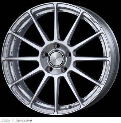 ENKEI Wheels PF03 7.0J-17 +50 5x112 Silver set of 4 rims VW GOLF7 from JAPAN