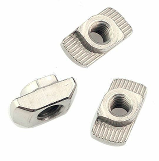 M3 Hammer Nuts T-Nuts for 20mm (2020 2040) Extrusion - 100 Pack