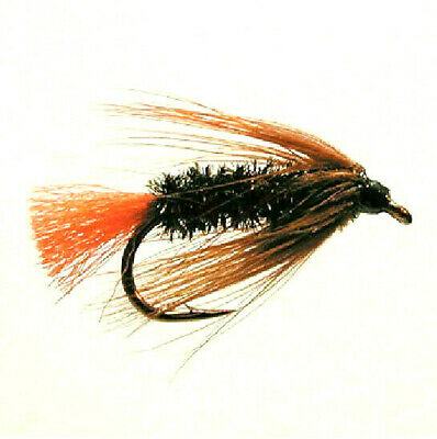 3 x RED TAG BARBLESS Dry Fly Fishing Flies Trout Attractor Grayling Size 12