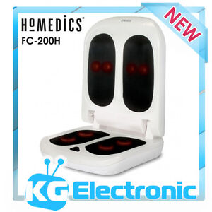 Homedics FC-200H Dual Shiatsu Foot & Calf Massager - massage