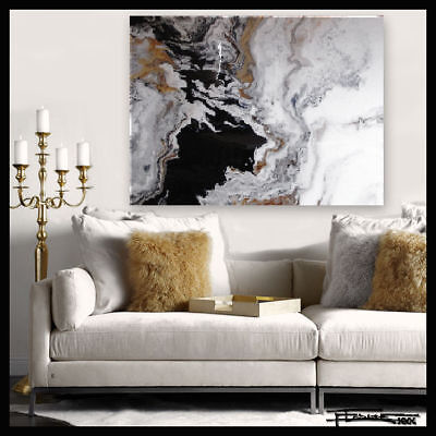 Abstract Resin Painting Contemporary Modern Wall Art Large,  Framed US ELOISExxx