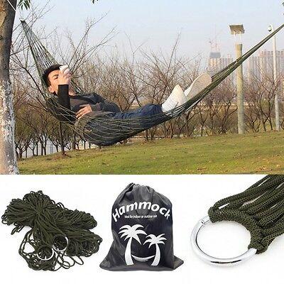 Portable Nylon Hammock in Carrying Bag