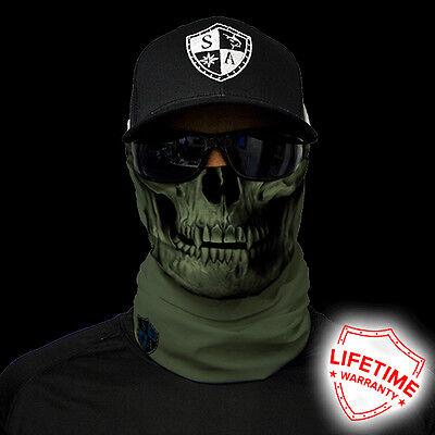 Salt Armour SA TACTICAL | OD GREEN SKUL  Face Shield Sun Mask Balaclava **USA**