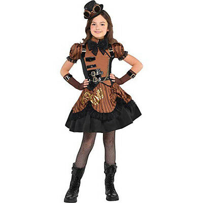Steampunk'D Steampunk Girls Child Costume | Amscan - Girls Steampunk Costume