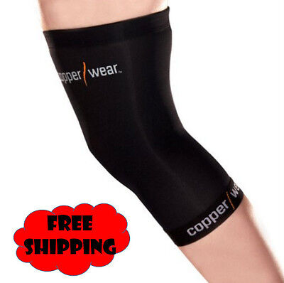 Medium Fit Copper Wear Knee Sleeve Compression Extra Tommie Support Brace