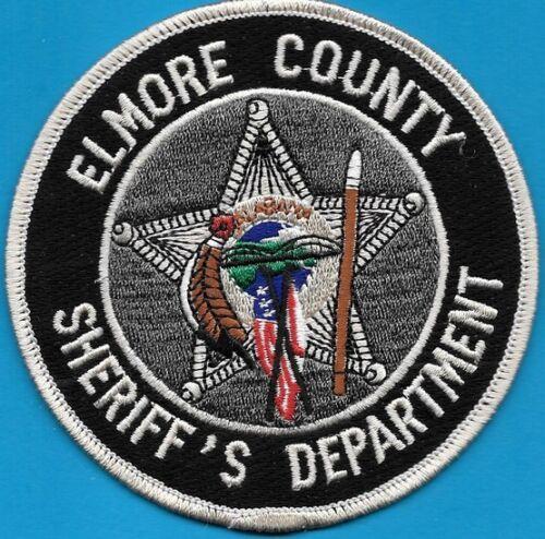 ELMORE COUNTY AL ALABAMA SHERIFF DEPT CROSS FLAGS SPEAR FEATHER BRIDGE SO SD