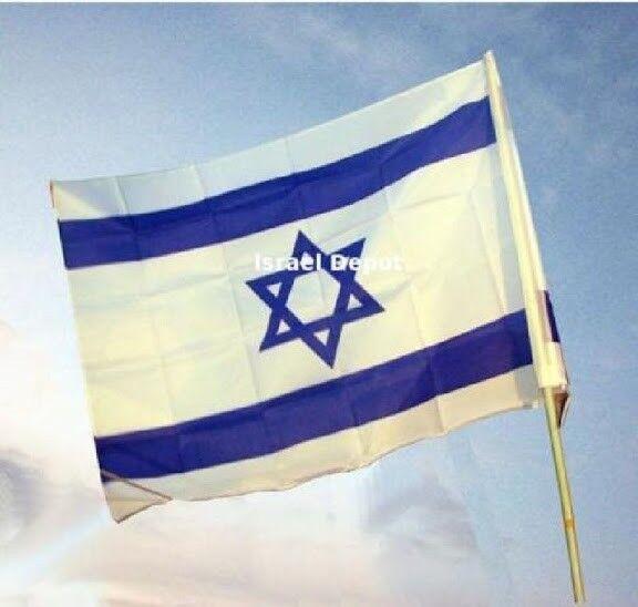 Israeli Flag Magen David 100  x 150 cm 3 x 5 ft Israel