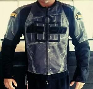manteau ICON gr. large avec doublure int. et protection
