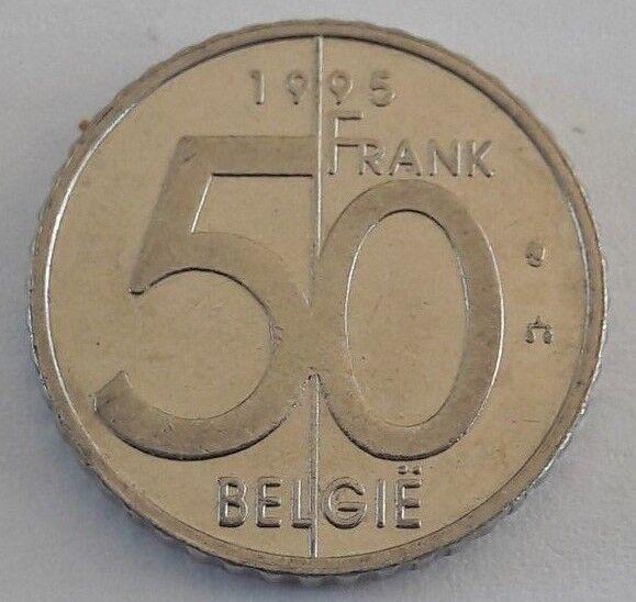 Belgium Belgie 50 Francs 1994 1995 1998 Albert II - French Text Vlaams  Text