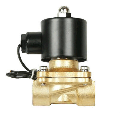 Air Ride Suspension Valve 38npt Brass Electric Solenoid For Train Horn Fast