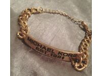 Michael Kors Gold Chain Bracelet
