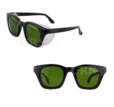 TITUS Safety Welding Glasses Goggles Metal Mesh Side Shields Z87+ Retro Vtg Type