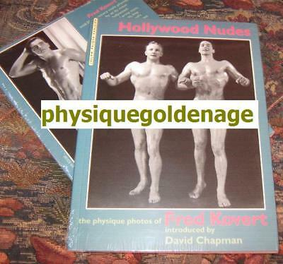 e4c89384620 Rare Hollywood Nudes Fred Kovert vtg 40s male beefcake muscle physique  Denfield